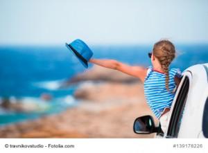 Autofahrt Kinder Urlaub